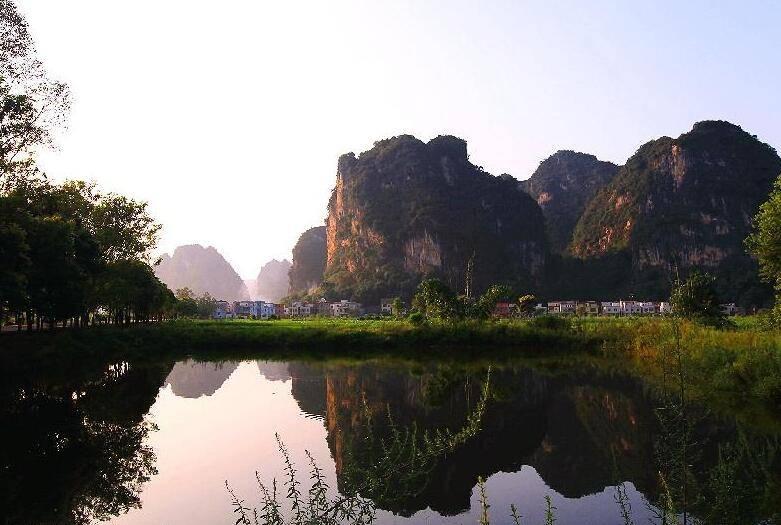 英西峰林小桂林体验农村风光2天游