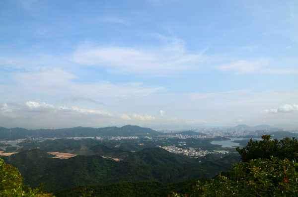 深圳马峦山海拔有多高?