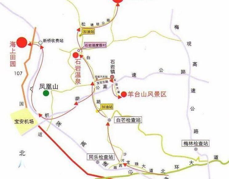 深圳羊台山森林公园 羊台山登山攻略