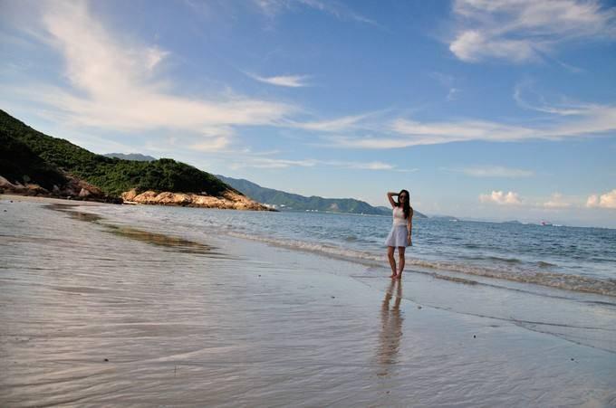 深圳南澳七星湾穿越桔钓沙海岸线