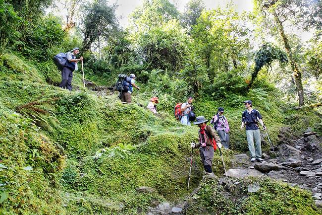 五五户外挑站ABC(8天)尼泊尔高山王国13晚14日专业徒步团 (加都集合)14 Days