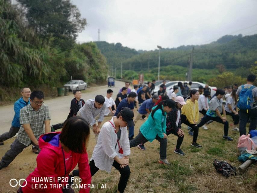 55户外-2018.10.20广州从化星溪徒步穿越