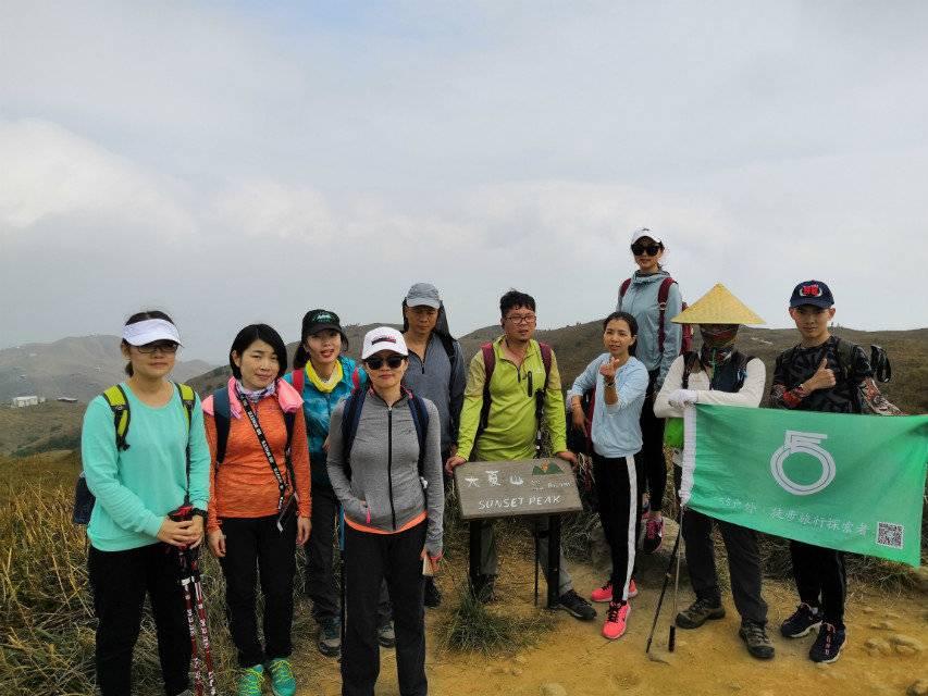 55户外-2018.11.24攀爬香港陈奕迅山一日游