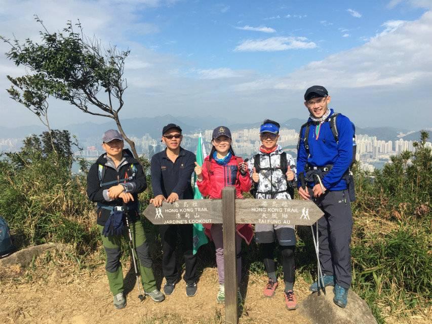 55户外-2018.12.30香港港岛径50KM徒步穿越