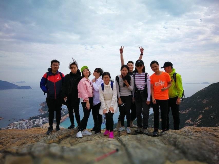 2019.1.20香港港岛径徒步穿越一日游