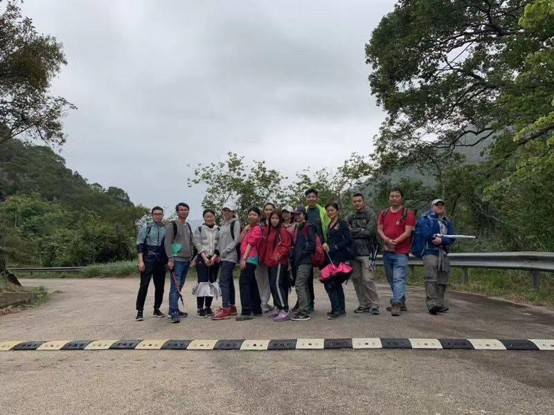 2019.2.23香港徒徒步之三~ 我们走过的卫奕信径