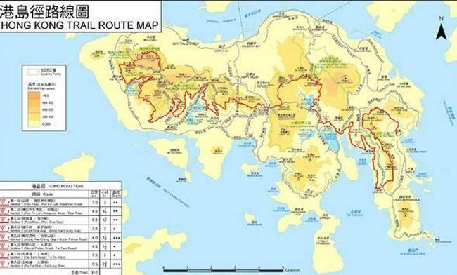 五五户外港岛径全程穿越
