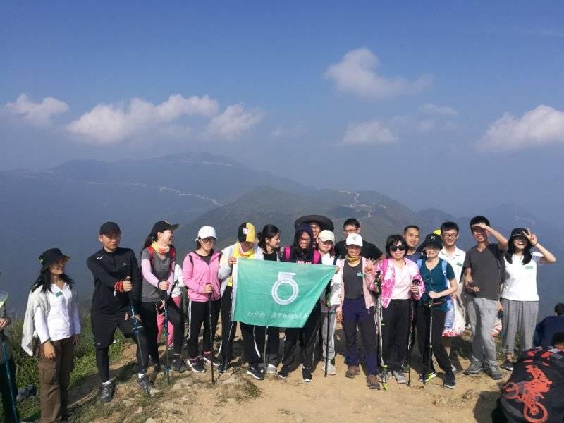 55户外-2019.4.5惠东大南山徒步穿越一日游