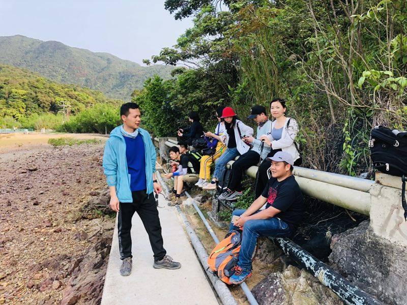 55户外-2019.4.7香港麦理浩径二段徒步