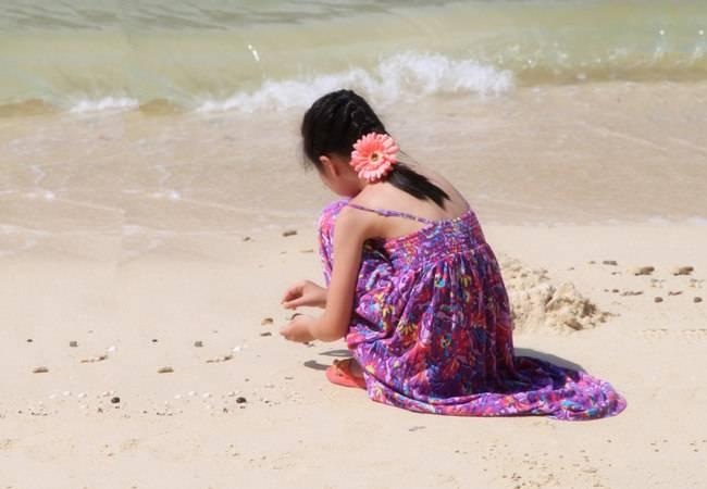 双月湾出海观光 狮子岛拾海星赏日落