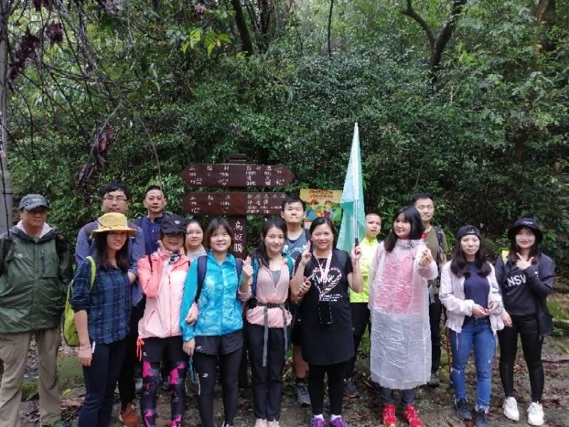 55户外-2019.4.20香港荔枝窝雨中徒步