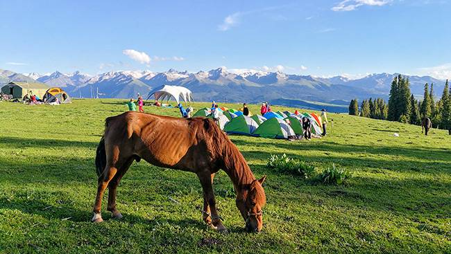 新疆徒步喀拉峻