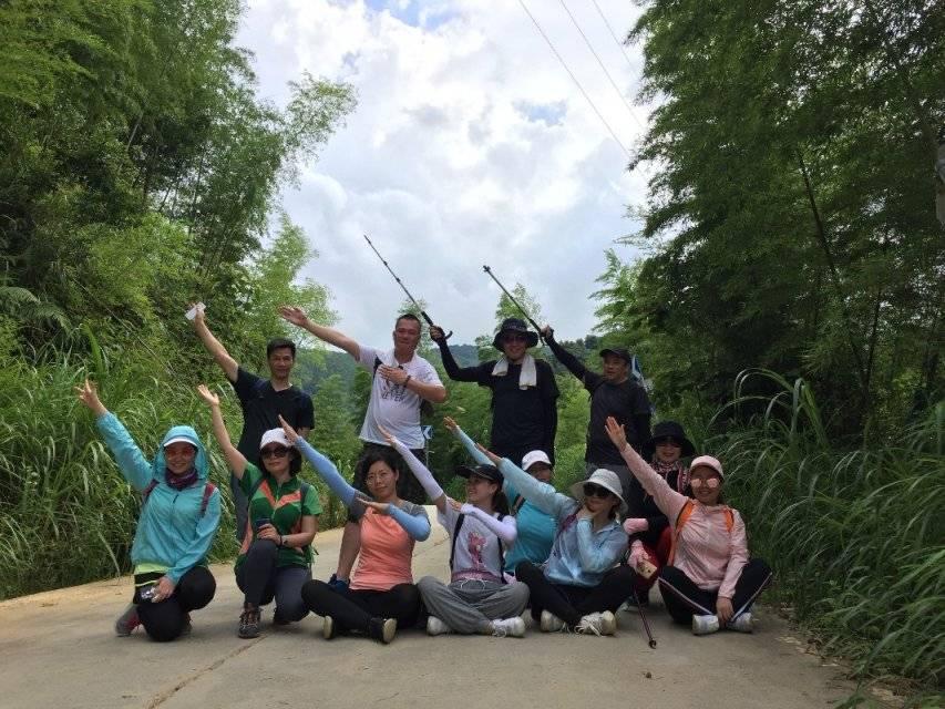 2019.06.22从化星溪竹林徒步,土鸡竹筒饭腐败