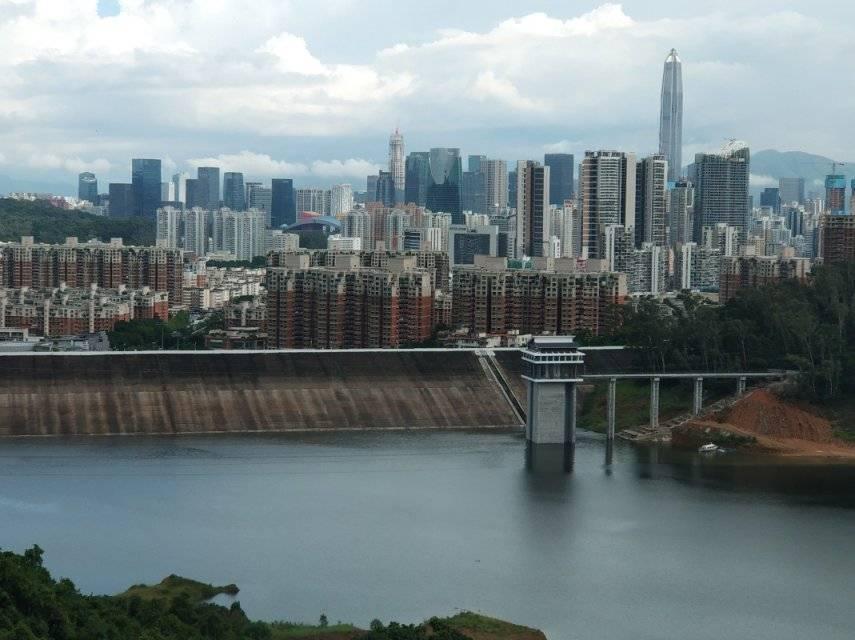 2019.06.30走遍深圳之塘朗山穿越梅林水库