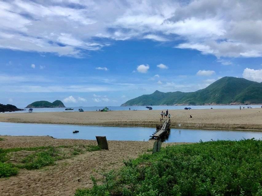 2019.07.07香港麦径二段徒步,四叠潭泡脚