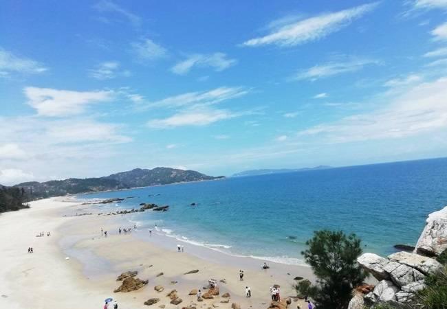 咸台港海岸线