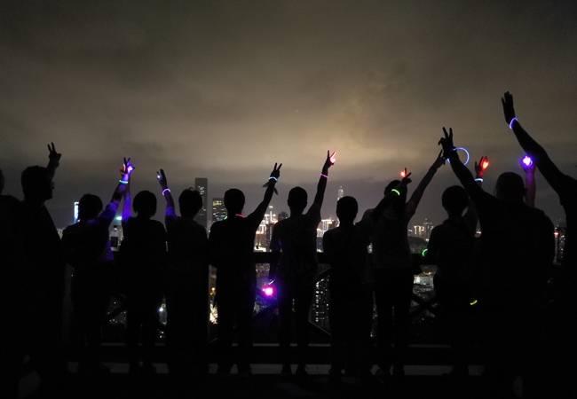 【每周三夜徒】深圳银湖山?#23478;?#20844;园夜徒 第14期  2019-10-16