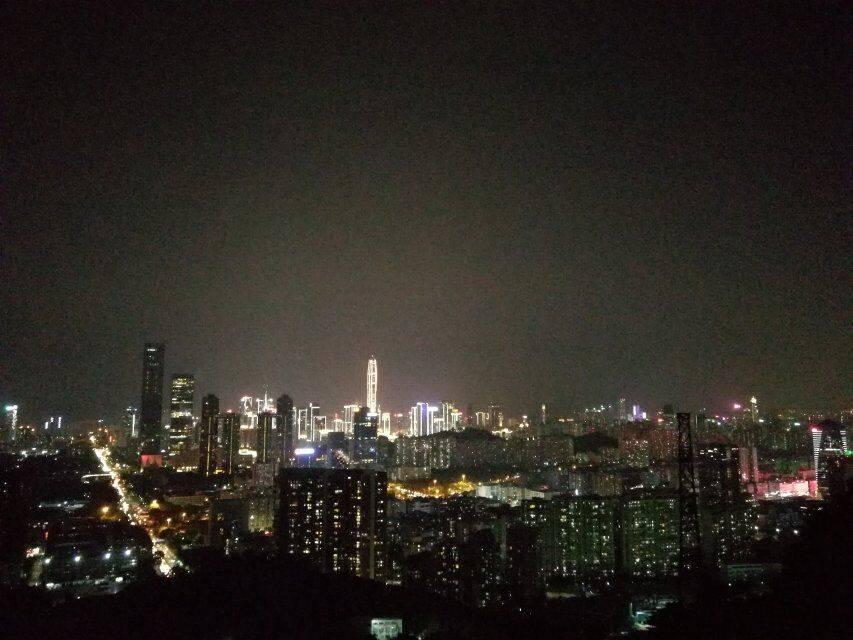 55户外-2019.08.21 【每周三】银湖山荧光夜徒