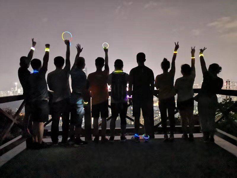 55户外-2019.08.28 【每周三】银湖山夜徒