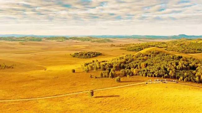 乌兰布统草原徒步