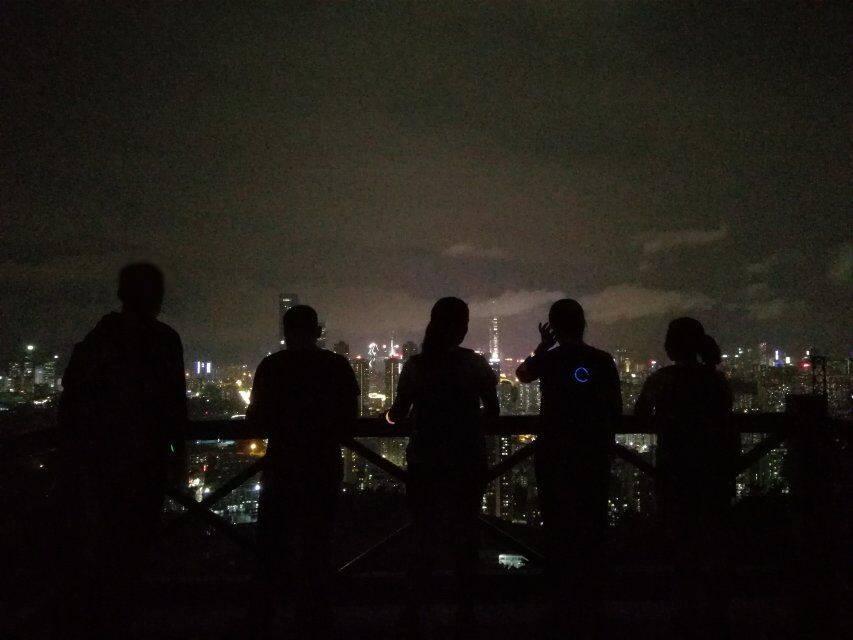 55户外-2019.9.04 梅林银湖山夜徒