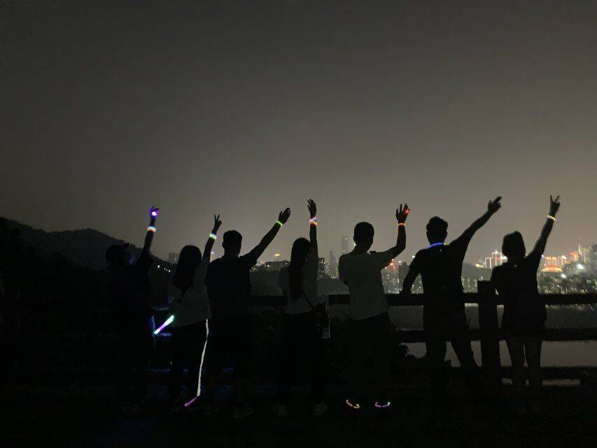 55户外-2019.9.18 周三梅林绿道夜徒