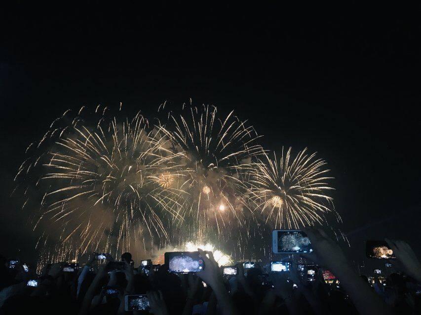 2019.10.01-02 澳门黑沙滩露营 赏国际烟花节