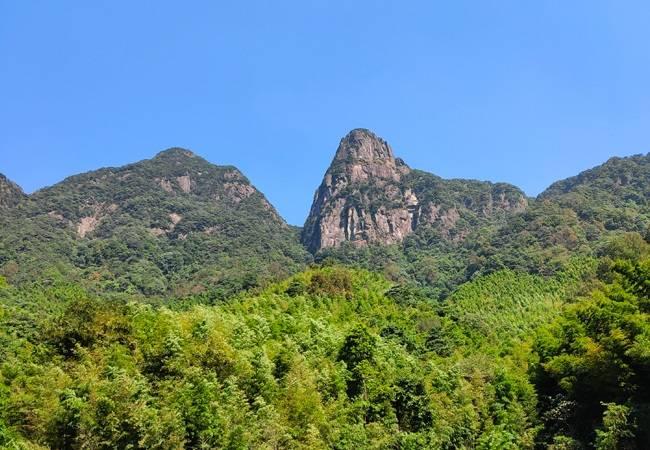 广州第二峰鸡枕山