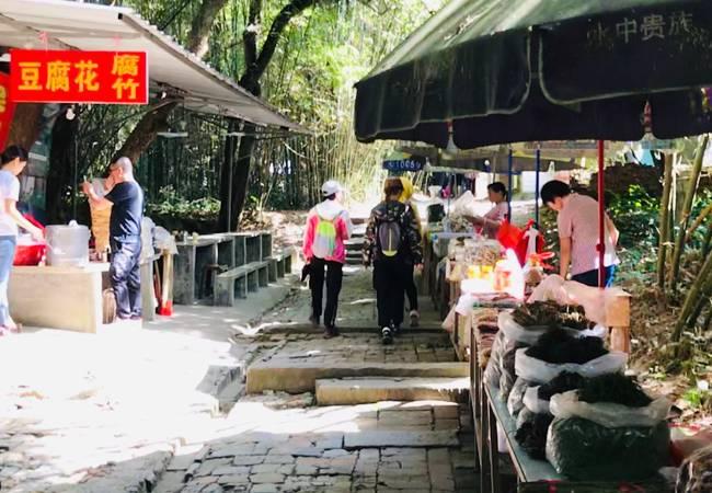 五五户外【香溪古堡】徒步最美香溪河 探访外围古村落