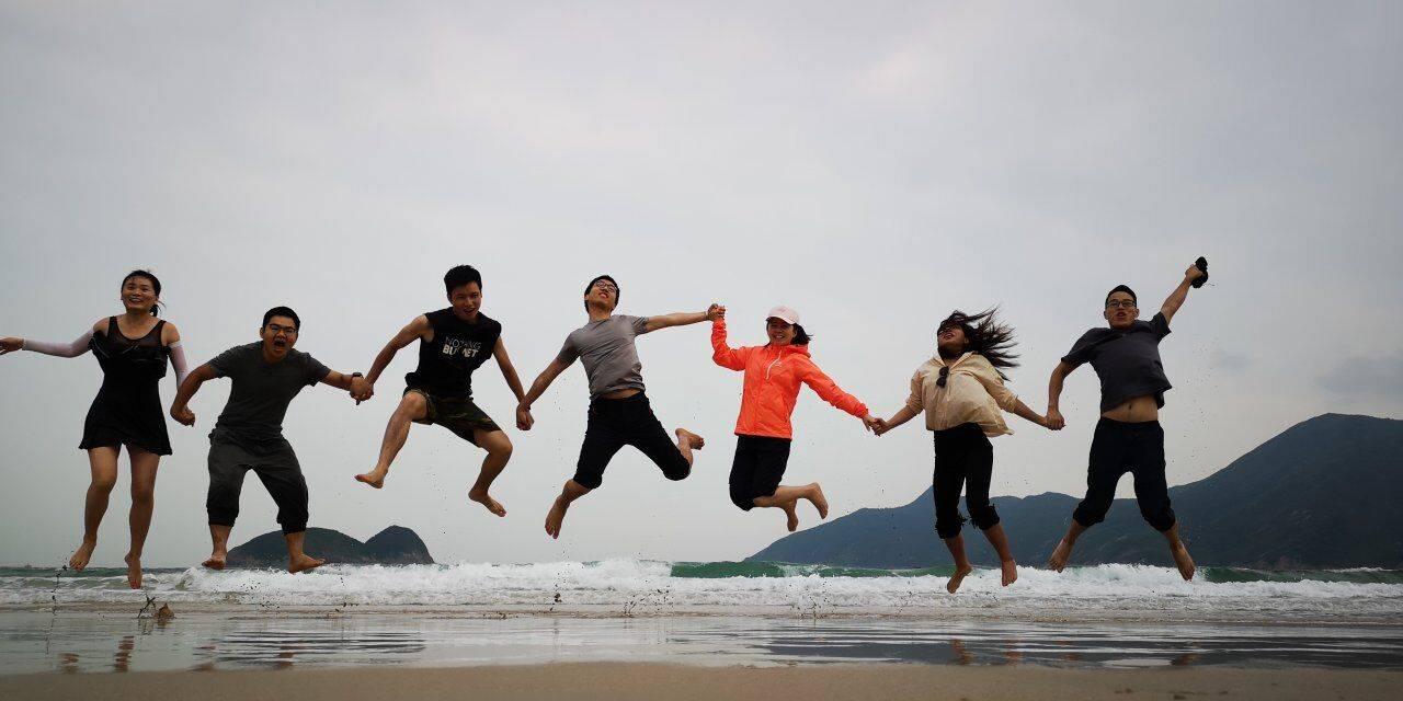 2019.10.26-27 香港麦理浩径 咸田湾露营