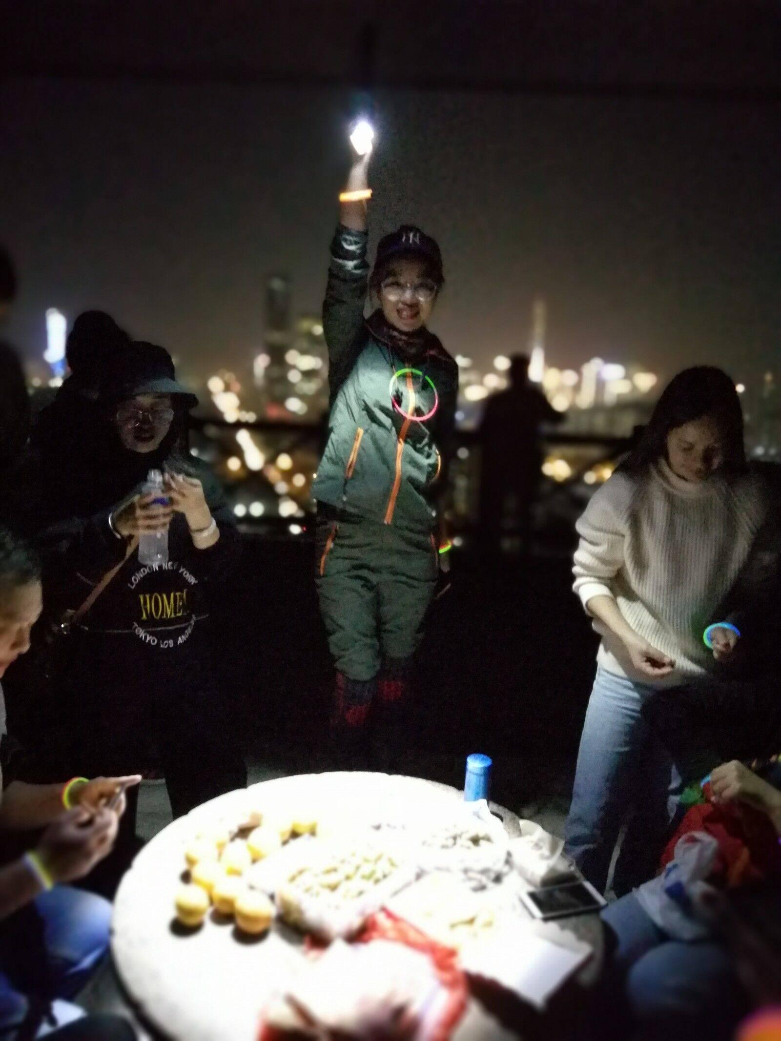2019.12.04 银湖山绿道夜徒