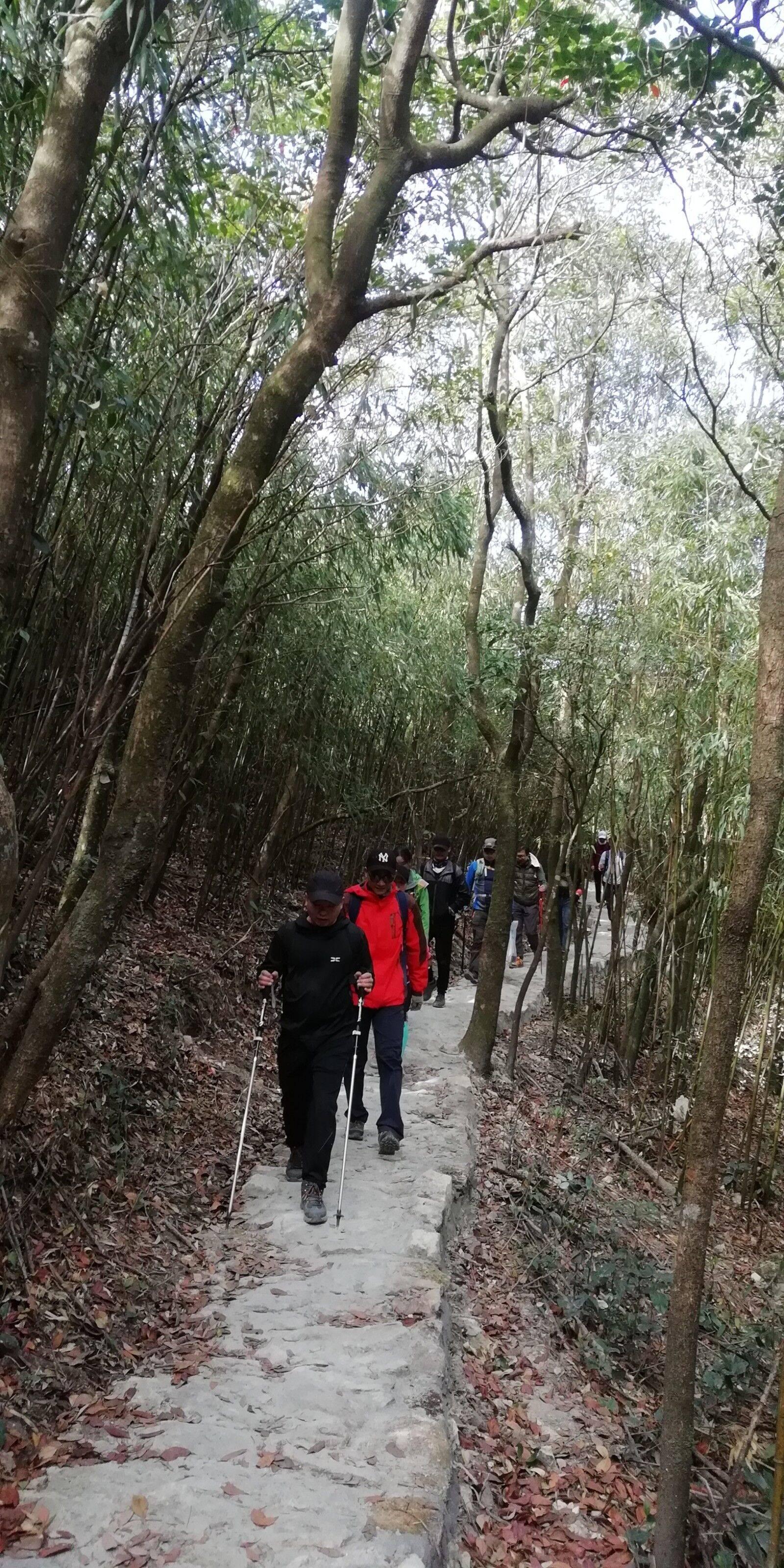 2019.12.08 惠东罗浮山穿越