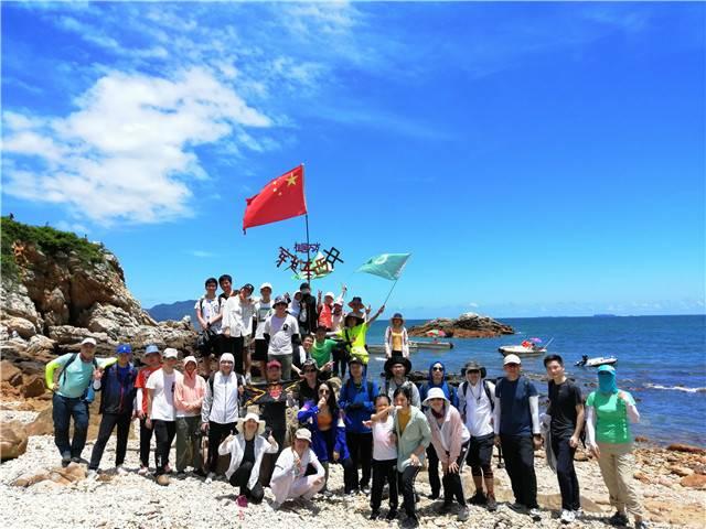 55户外-2020年6月20日深圳东西冲海岸线经典穿越
