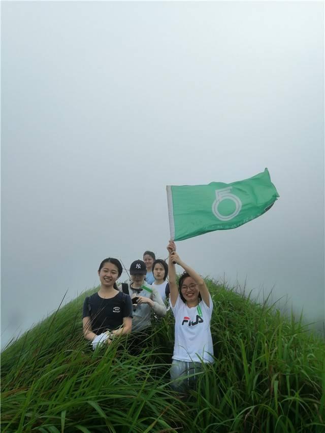 55户外- 【绿色草甸相册】惠东大南山精华段13公里穿越  第107期  7月4日