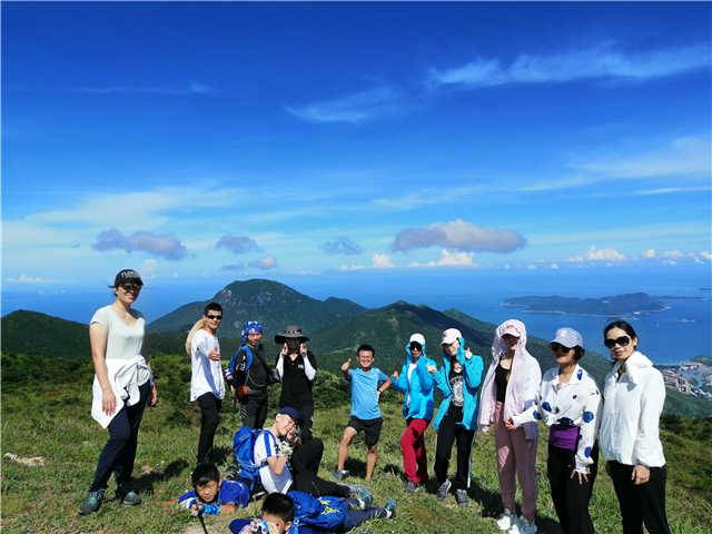 【深圳第二峰游记】七娘山小环线9公里穿越 第97期 7月18日