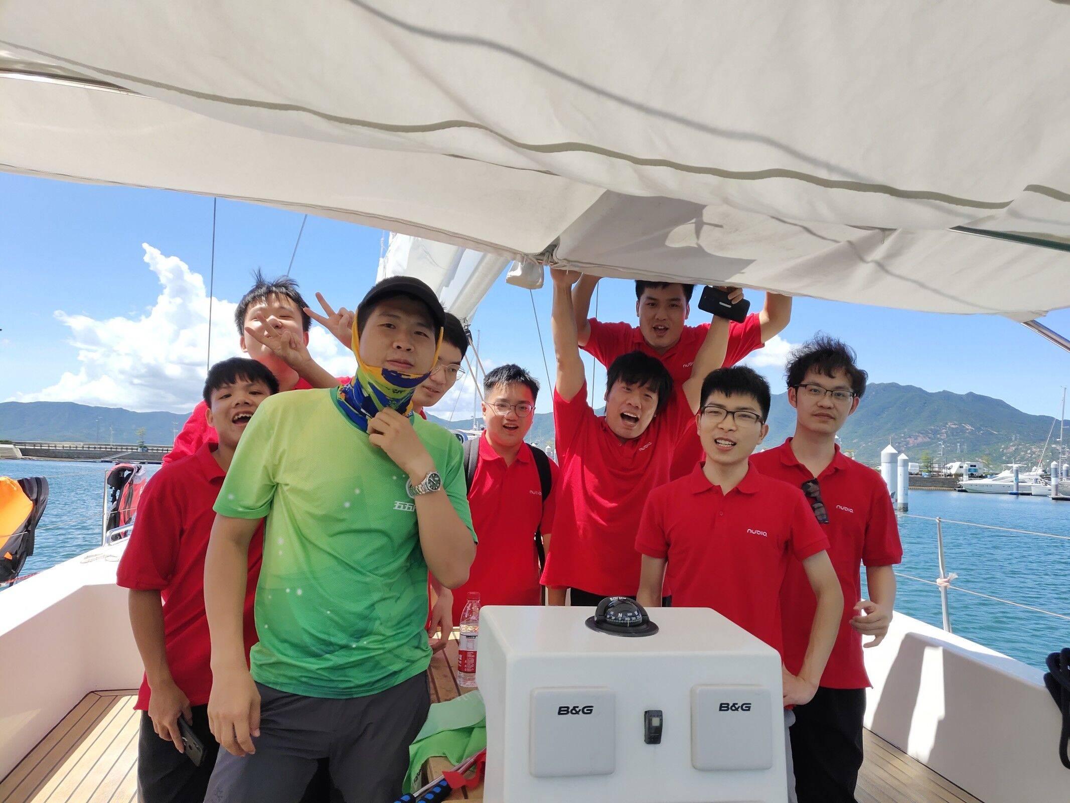 努比亚技术有限公司五五户外大鹏团建一日游12