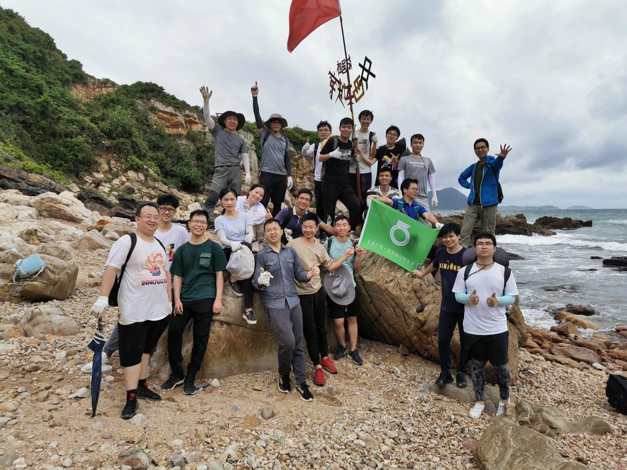 2020.07.31 深圳东西冲团建-公司部门团队建设