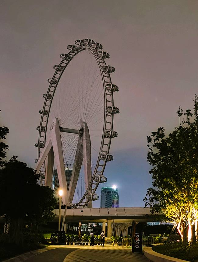 五五户外【每周三夜徒】宝安夜徒 滨海文化公园摩天轮