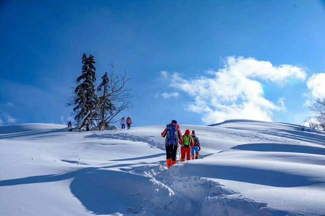 林海雪原徒步