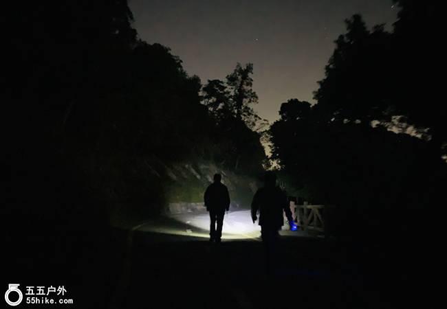 五五户外【每周三夜徒】深圳银湖山郊野公园夜徒
