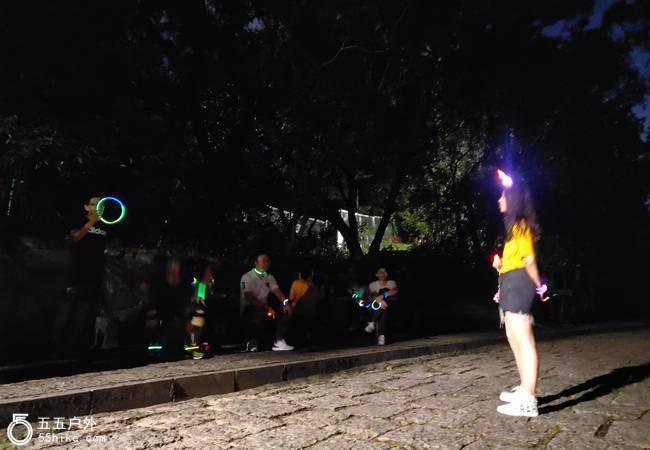 五五户外【每周三夜徒】深圳梅林绿道12KM夜徒