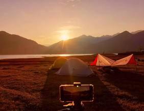 罗坑大草原露营