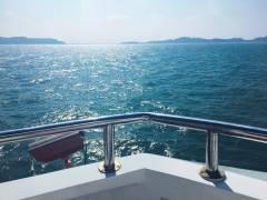珠海外伶仃岛|咦,原来大广东也有这么蓝的海