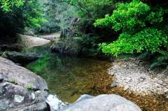 惠阳逍遥谷,是深圳驴友值得去的溯溪路线