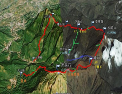 惠东大南山穿越难度大不,徒步要走多久