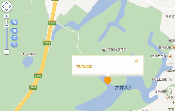 深圳甘坑水库在哪?深圳甘坑水库怎么走