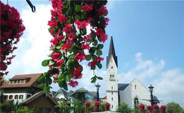 奥地利小镇的奇妙美景
