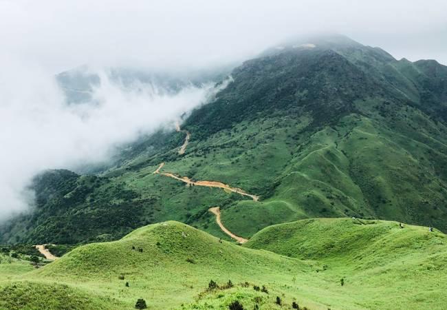 五五戶外惠東大南山穿越