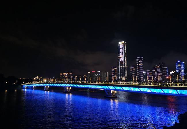 五五户外每周三深圳湾夜徒