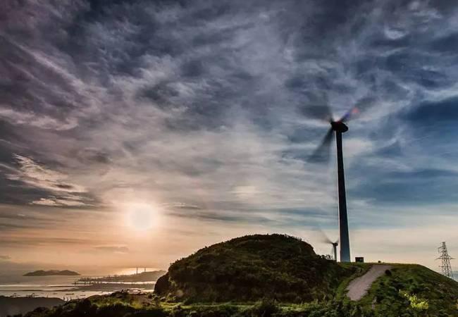 五五户外珠海高栏海岸最美风车山徒步